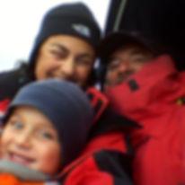 una famiglia a vela | l'equipaggio
