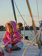 vacanze a vela coi bambini, si può!