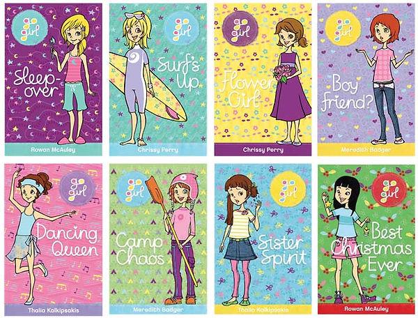 Go Girl series- illustrated by Aki Fukuoka