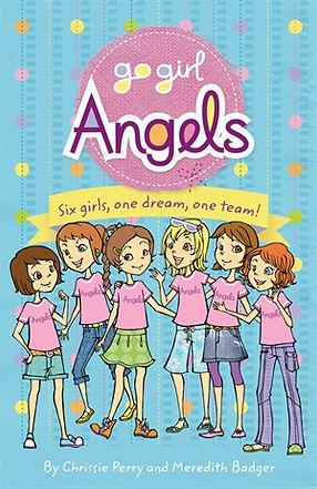 Go Girl Angels- illustrated by Aki Fukuoka