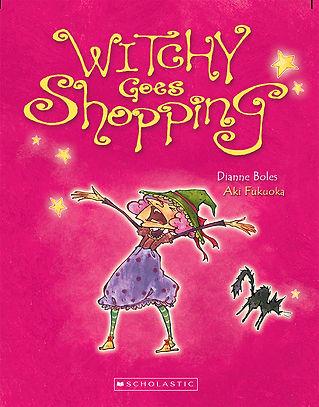 Witchy Goes Shopping- illustrated by Aki Fukuoka
