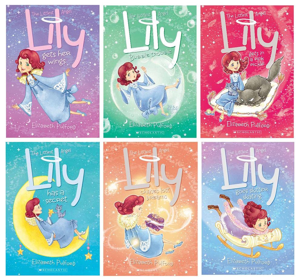 Lily the Littlest Angel series- illustrated by Aki Fukuoka