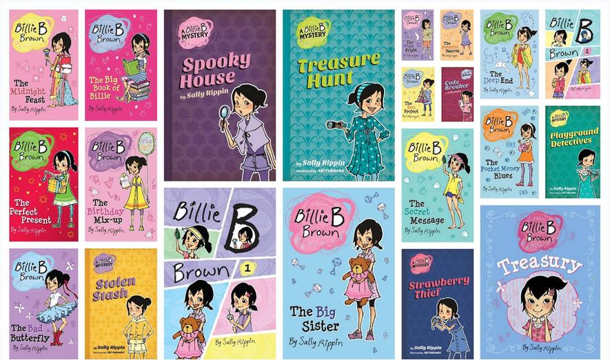Billie-B-Brown-Series illustrated by Aki Fukuoka, author Sally Rippin