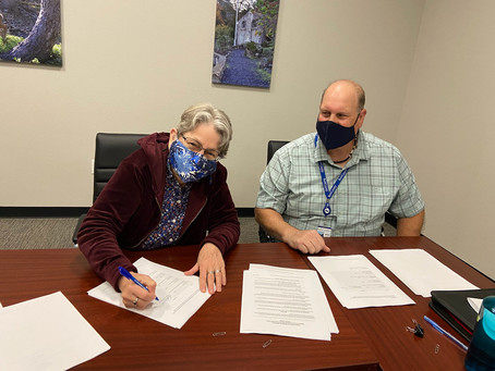 Everhart Village Contract is Signed!