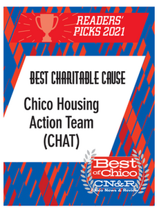 """CHAT Wins Chico News & Review """"Best Charitable Cause"""" Category!"""