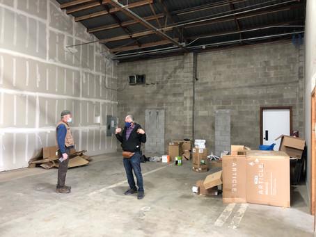 Refurbishing Our Gigantic New Warehouse