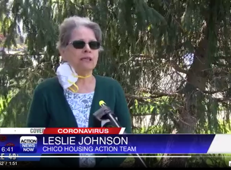 CHAT Executive Director Leslie Johnson Interviewed About Student Housing Program