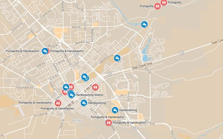 Great Map of Public Bathrooms and Hand-Washing Stations in Chico