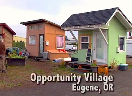Guest Commentary in the Chico Enterprise-Record About What's Working With Tiny Homes
