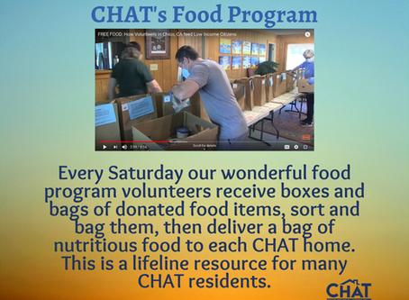 CHAT's Amazing Food Program