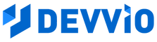 Devvio Logo with name blue.png