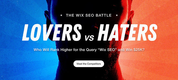 The Wix SEO Battle