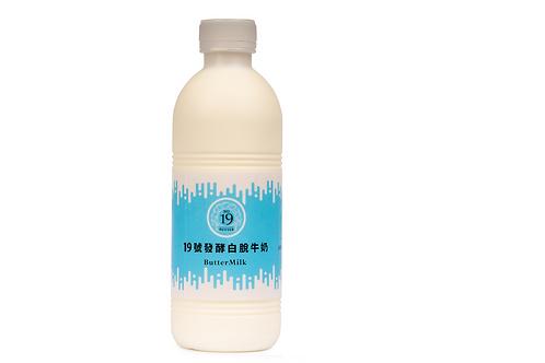 19號發酵白脫牛奶 900ml(12入)