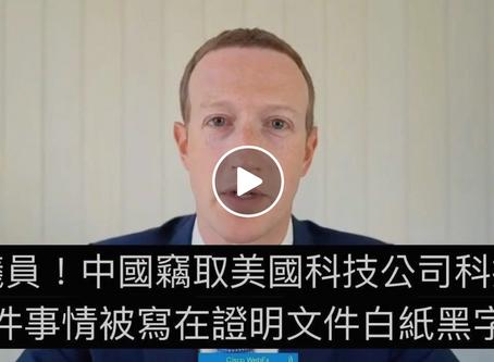 【綜和】4巨頭聽證會統一回答:「中國是否偷竊美國科技」
