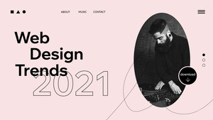 2021年9個網站設計趨勢