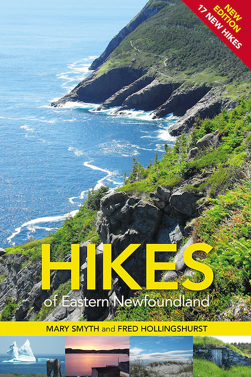 """""""Hikes of Eastern Newfoundland"""" by Mary Smyth and Fred Hollingshurst"""