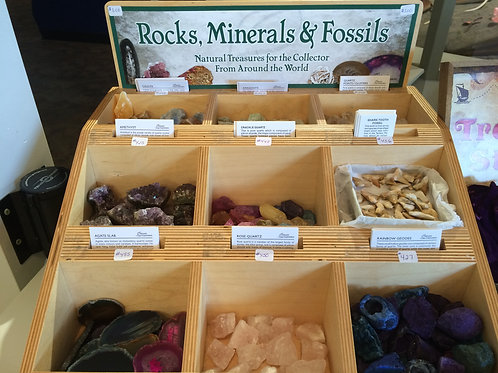 Rocks, Minerals&Fossils Collection