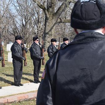 Dayton Honor Squad, military honors, Dayton Natonal Cemetery