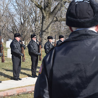 Dayton Honor Squad, military honors, Dayton Natonal Cemetery