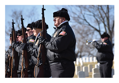 Honor Squad, Dayton National Cemetery, rifle salute, military honors
