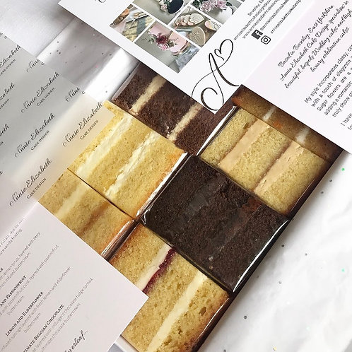 Luxury Cake Sample Box