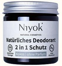 Deo ohne Aluminium in der Sorte Kokos ohne Parfum gegen Schweiß