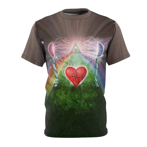 Mind hart bewustzijn t-shirt
