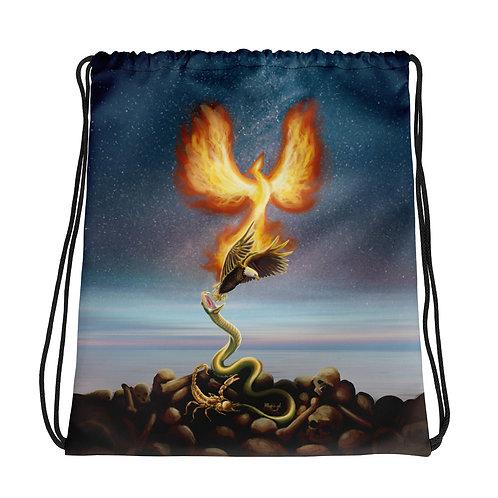 Scorpio Drawstring bag