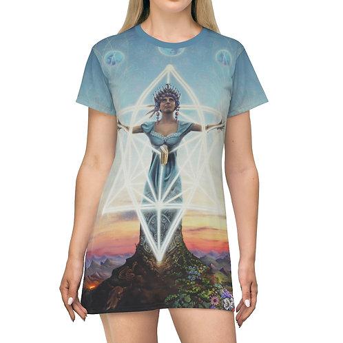 Manifestation T-Shirt Dress
