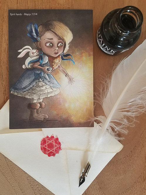 Postcard Spirithands