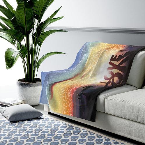 Love Velveteen Plush Blanket