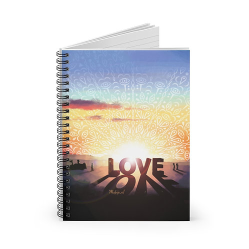 Love Spiral Notebook - Ruled Line