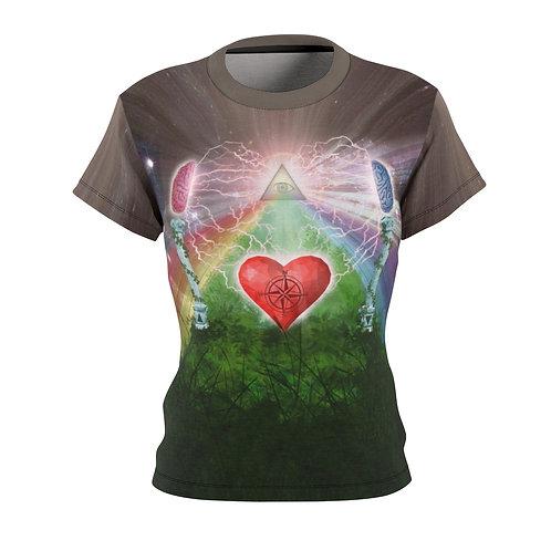 Mind Heart Awareness dames t-shirt