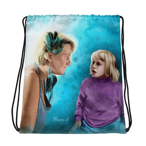 Future self Drawstring bag