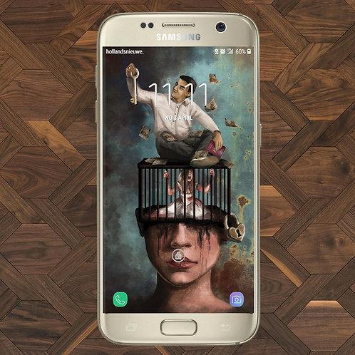 Digital wallpaper Manipulation