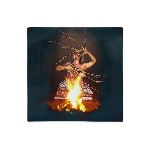 Magic fire Premium Pillow Case
