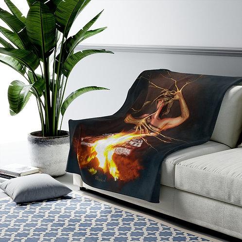 Magic Fire Velveteen pluche deken
