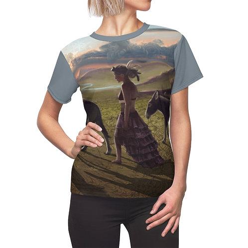 The basics dames t-shirt