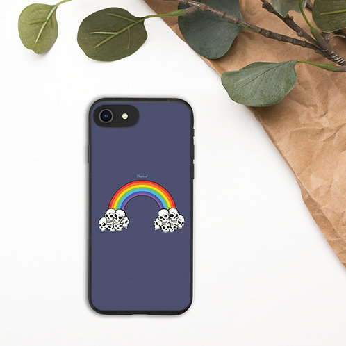 Embracing death Biodegradable phone case