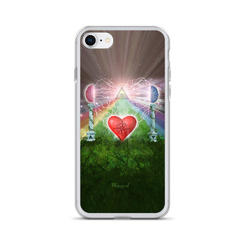 heart mind awareness iPhone Case