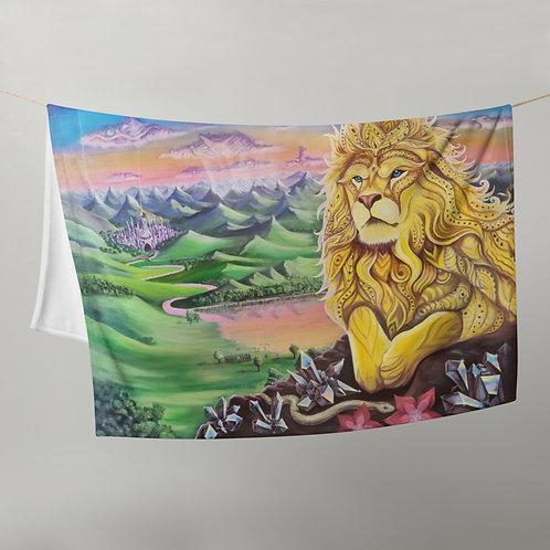 Levenswiel Throw Blanket