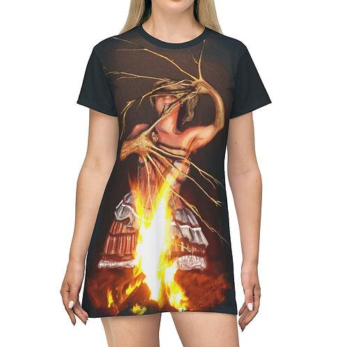 Magic Fire T-Shirt Dress
