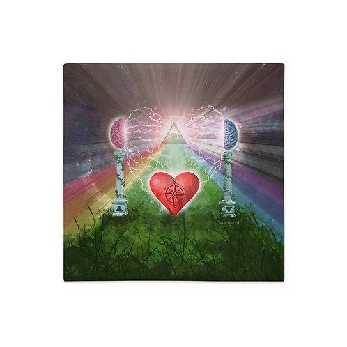 heart mind awareness Premium Pillow Case
