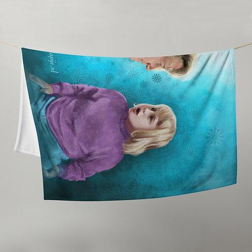 Future self  Throw Blanket