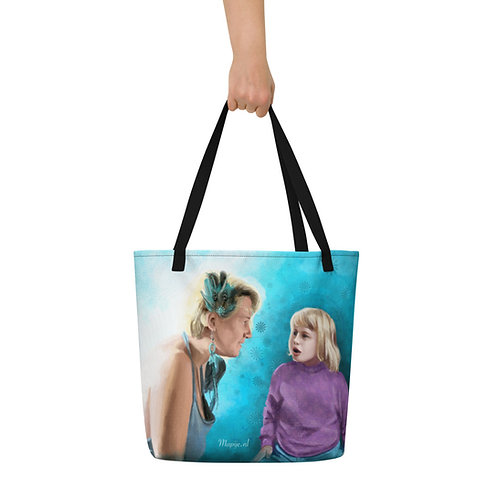 Future self Beach Bag