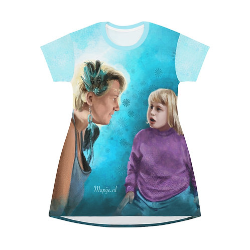 Future self T-Shirt Dress