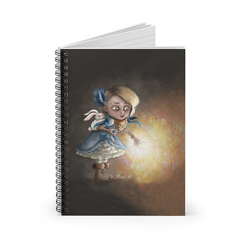 Healing hands Spiral Notebook - Ruled Line