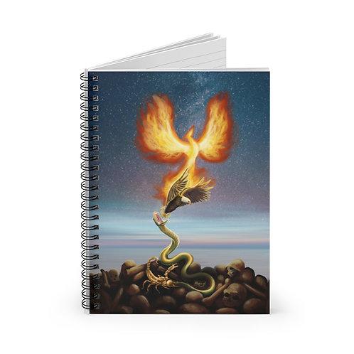 Scorpio Spiral Notebook - Ruled Line