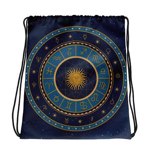 Zodiac tas met trekkoord
