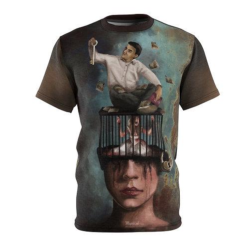 Manipulatie T-shirt voor heren